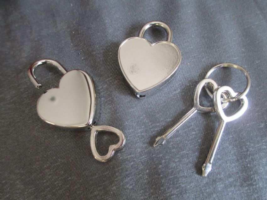 Pair of Padlocks and Keys,